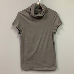 Banana Republic Mock neck T-shirt grey Women's m